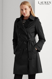 Lauren Ralph Lauren® Showerproof Hooded Trench Coat