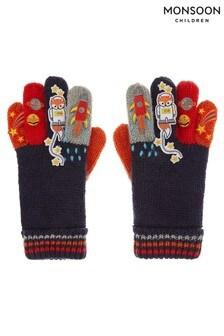 Monsoon Space Fox Novelty Gloves