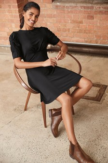 Black Tea Dress