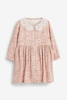 Pink Lace Collar Dress (3mths-7yrs)