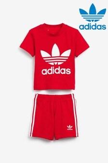 adidas Originals Infant Shorts And T-Shirt Set