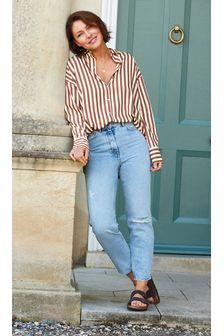 Bleach Emma Willis Carrot Leg Jeans
