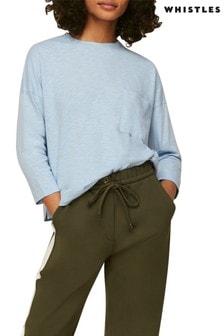 Whistles Cotton Pocket T-Shirt
