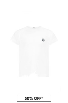 Emporio Armani Baby Boys White T-Shirt
