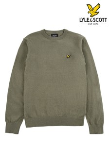 Lyle & Scott Crew Neck Cotton Merino Mix Jumper