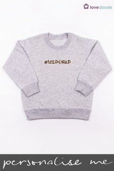 Personalised Wild Child Jumper by Loveabode