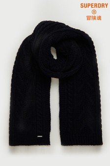 Superdry Lannah Cable Scarf