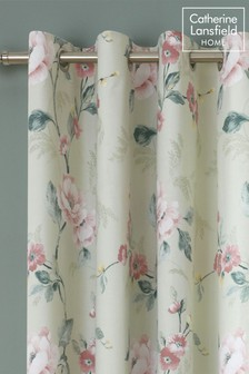Floral Trail Eyelet Curtains by Catherine Lansfield