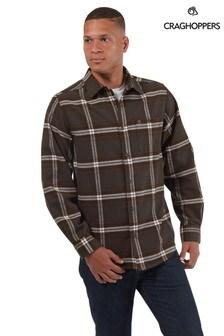 Craghoppers Black Wilmot Shirt