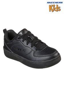 Skechers® Black Sport Court 92 Trainers