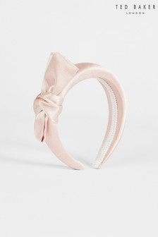 Ted Baker Pink Sabii Giant Knot Headband