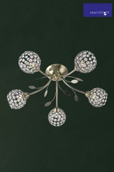 Calavera 5 Light Ceiling Light by Searchlight