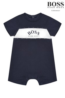 BOSS Baby Logo Romper