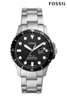 Fossil™ Threehand Date Stainless Steel Watch