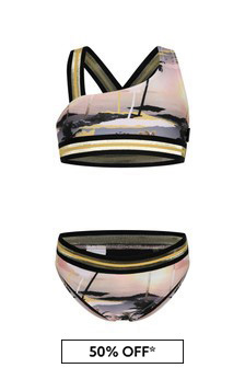 Molo Girls Yellow Bikini