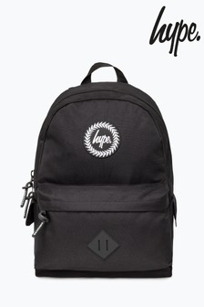 Hype. Black Explorer Backpack