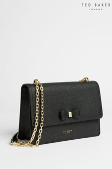 Ted Baker Black Arttie Bow Cross-Body Bag