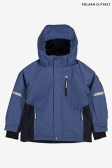Polarn O Pyret Blue Waterproof Ski Padded Jacket