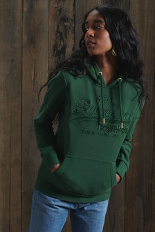 Superdry Vintage Logo Tonal Embroidered Hoody
