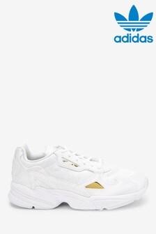 adidas Orignals White Falcon Trainers
