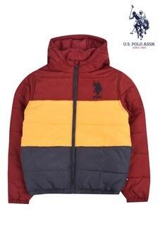 U.S. Polo Assn. Bold Blocked Heavy Padded Jacket