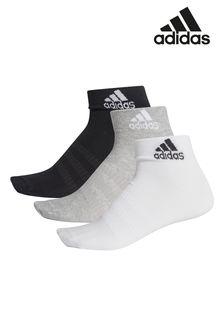 adidas Kids Ankle Socks 3 Pack