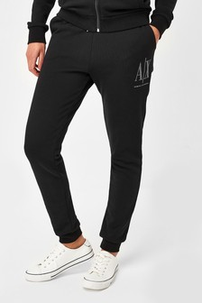 Armani Exchange Stud Icon Logo Joggers