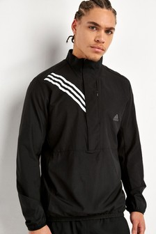 adidas Own The Run 3 Stripe Jacket
