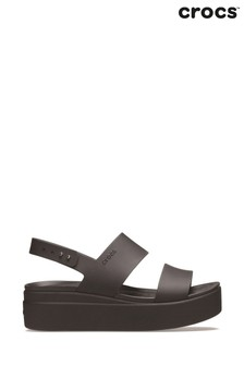 Crocs™ Brooklyn Low Wedge Platform Sandals