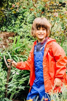 Muddy Puddles Red Originals Waterproof Hooded Jacket