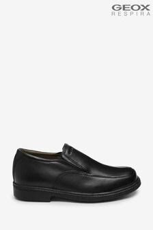 Geox Junior Boys R Federico Black Shoes