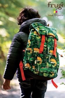 Frugi Recycled Hiking Rucksack - Green Chameleon