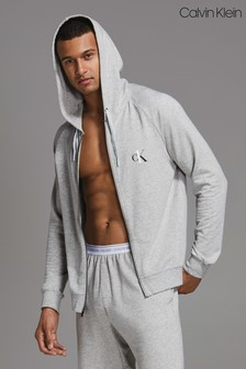 Calvin Klein Grey Full Zip Hoody