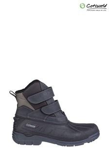 Cotswold Black Kempsford Wellington Boots