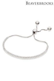 Beaverbrooks Cubic Zirconia Tennis Bracelet