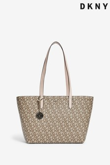 DKNY Bryant Logo Print Shopper Tote Bag