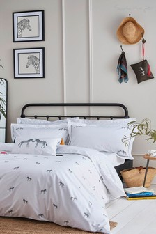Sophie Allport ZSL Zebra Monochrome Bed Set