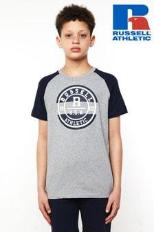 Russell Athletics Collegiate Raglan T-Shirt
