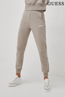 Guess Taupe Abby Logo Joggers