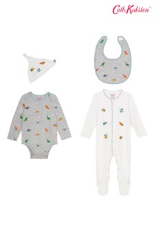 Cath Kidston® Mini Dino Four Pack Baby Starter Set