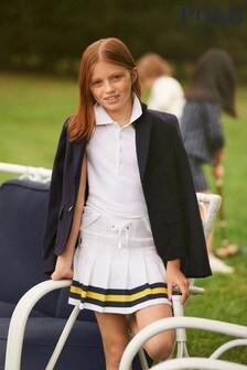 Ralph Lauren White Multicoloured Skirt