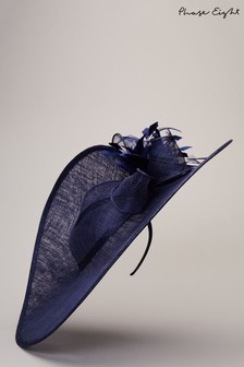 Phase Eight Blue Trudy Large Disc Fascinator