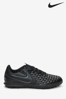 Nike Black Tiempo Club Junior & Youth Turf Football Boots