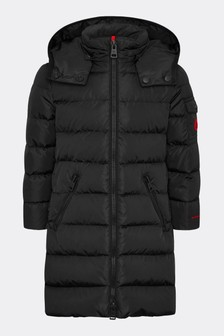 Girls Black Lemenez Coat