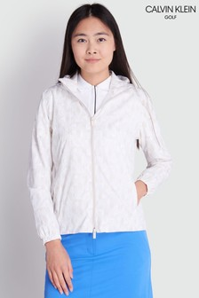 Calvin Klein Golf Cream Rydal Jacket