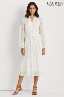 Lauren Ralph Lauren® White Boho Jaira Dress