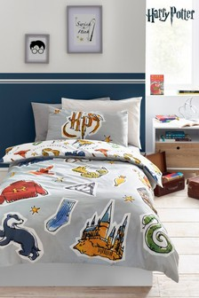 Harry Potter™ Duvet Cover and Pillowcase Set