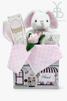 Babyblooms Pink Bunny Welcome Baby Gift