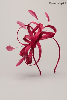 Phase Eight Pink Tabitha Headband Fascinator