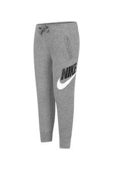 Nike Boys Grey Cotton Joggers